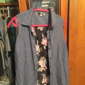 French Laundry Womans Shirt L